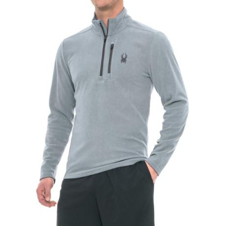 Spyder Microfleece Shirt - Zip Neck, Long Sleeve (For Men)