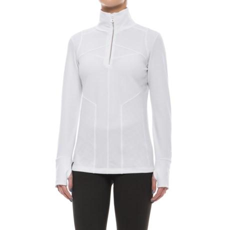 NILS Fallon Base Layer Top - Zip Neck, Long Sleeve (For Women)