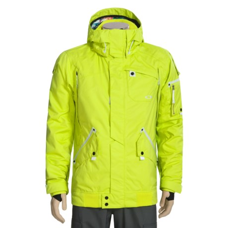 Oakley Ampiler Ski Jacket - Waterproof, Insulated (For Men)