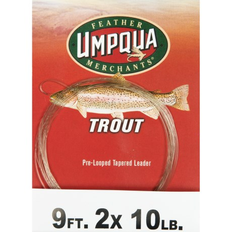 Umpqua Feather Merchants Trout Leader - Tapered, 9'