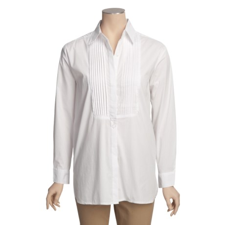 Allison Morgan Boyfriend Tunic Shirt - Long Sleeve (For Women)