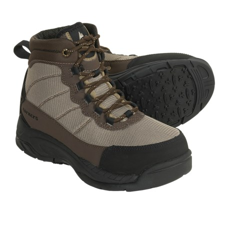 Korkers Cross Current Wading Boots - Interchangeable Soles (For Men and Women)