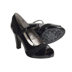 Sofft Raine Mary Jane Shoes - Patent Leather, Peep Toe (For Women)