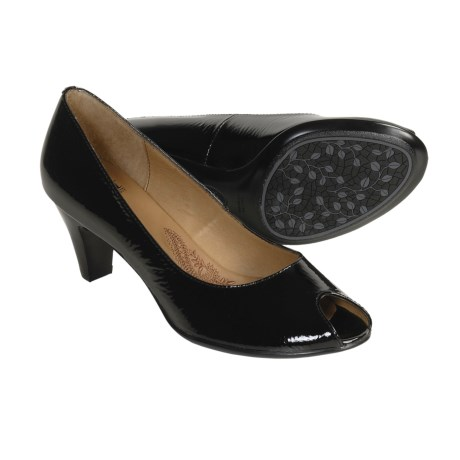 Sofft Sorrento Pumps - Patent Leather, Peep Toe (For Women)