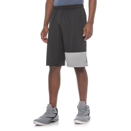 "Reebok Mesh Basketball Shorts - 10"" (For Men)"