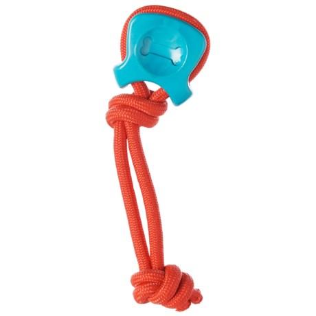 Caitec Chase-n-Chomp Westy Rubber Dog Toy