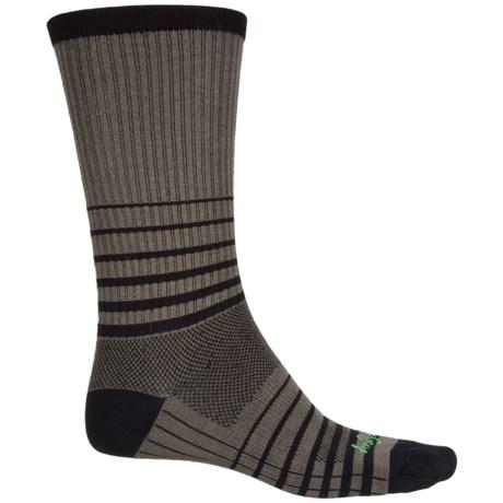 SockGuy Striped Socks - Crew (For Men and Women)