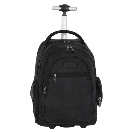 "IT Luggage B-Trail Carry-On Rolling Backpack - 20"", 28L"