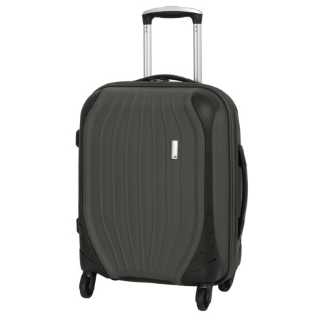 "IT Luggage 21"" Impact Frameless Spinner Suitcase"