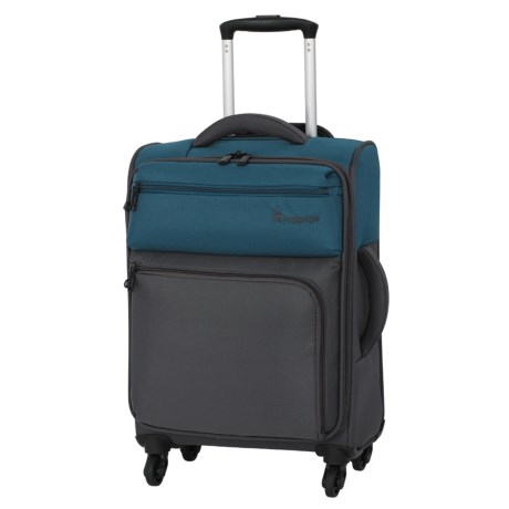 """IT Luggage Duotone Spinner Suitcase - 21"""""""