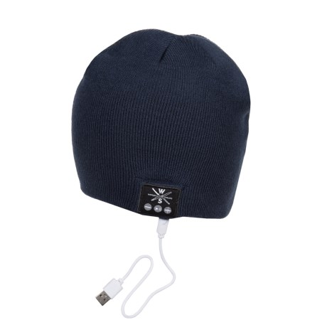 Warriors & Scholars WS Wireless Bluetooth® Beanie - Built-In Headphones