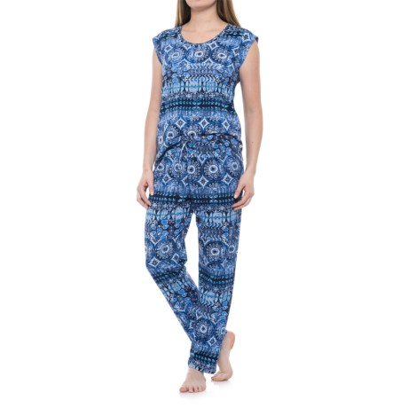 Lucky Brand Printed Pajamas - Short Sleeve (For Women)