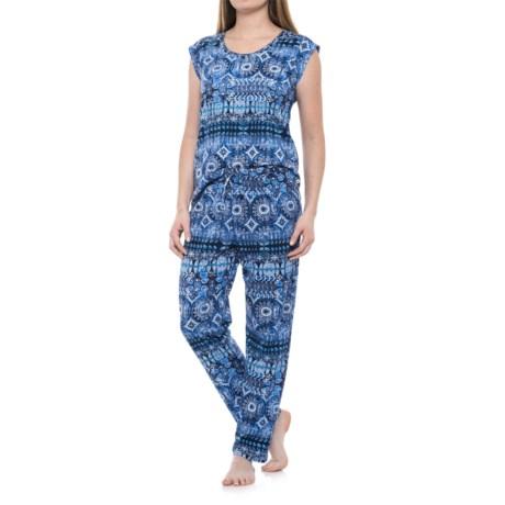 Lucky Brand Printed Pajamas - Short Sleeve (For Women)
