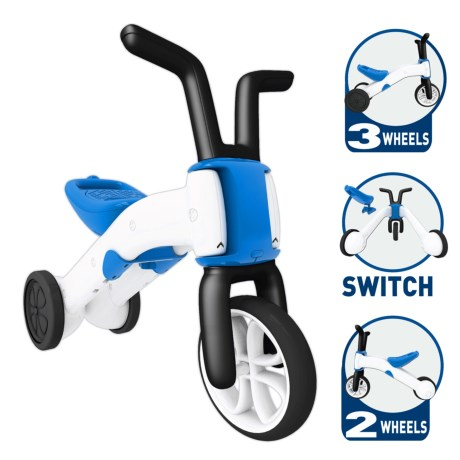 Chillafish Bunzi 2-in-1 Gradual Balance Bike and Tricycle (For Little Kids)