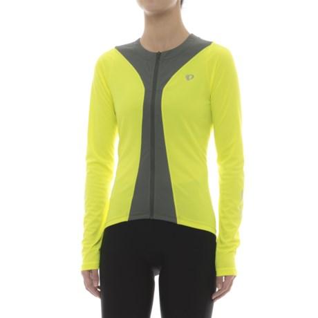 Pearl Izumi Podium Cycling Jersey - Full Zip, Long Sleeve (For Women)