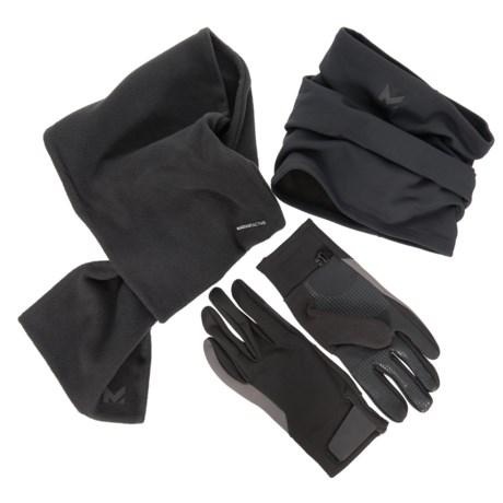 Mission RadiantActive Gaiter, Scarf and Gloves Set - 3-Piece (For Men)