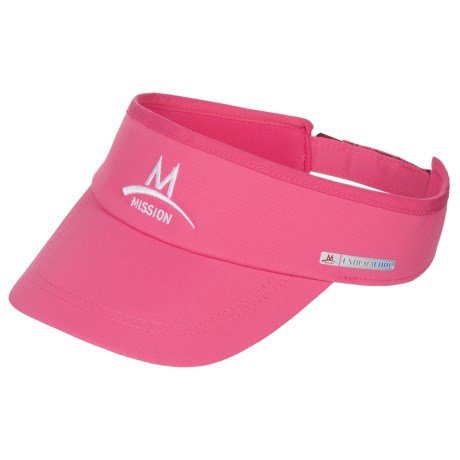 Mission EnduraCool® Instant Cooling Visor - UPF 50 (For Men and Women)