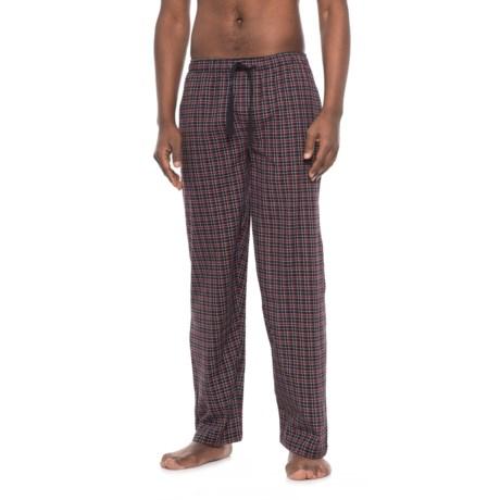 Jockey Broadcloth Plaid Pajama Pants (For Men)