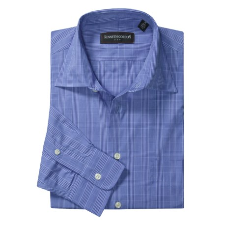 Kenneth Gordon Plaid Sport Shirt - Cotton, Long Sleeve  (For Men)