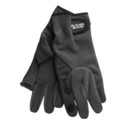 Glacier Glove 710 Split Finger Gloves - Windproof Fleece (For Men)