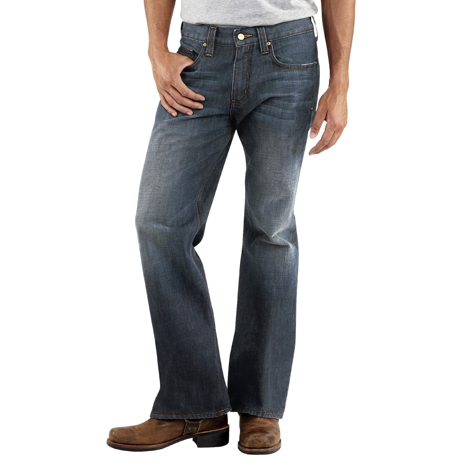Relaxed Fit Bootcut Jeans For Men | Bbg Clothing