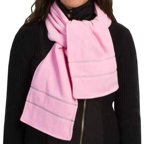 Grand Sierra Double Layer Supersoft Fleece Scarf (For Women)