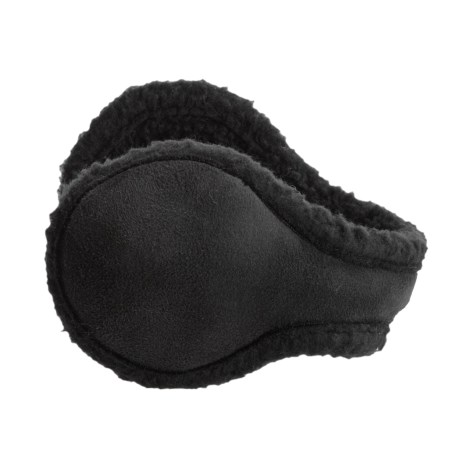 180s Metro Ear Warmers - Faux Suede, Insulated (For Women)