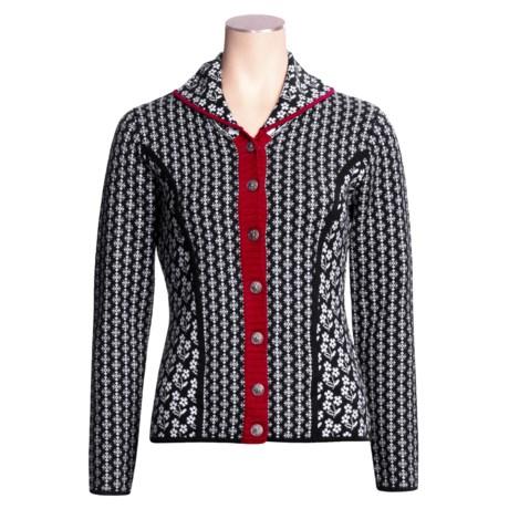 Neve Amelia Swiss Shawl Cardigan Sweater - Merino Wool (For Women)