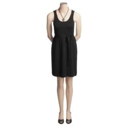 Neve Simone Pleated Dress - Merino Wool, Sleeveless (For Women)
