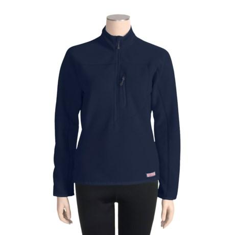 Vineyard Vines Tradewinds Fleece Pullover Jacket - Zip Neck (For Women)
