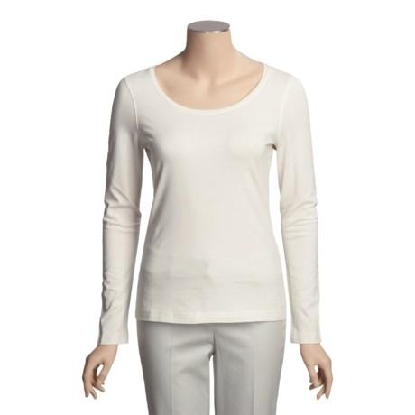 Vineyard Vines Paradise T-Shirt - Pima Cotton, Long Sleeve (For Women)