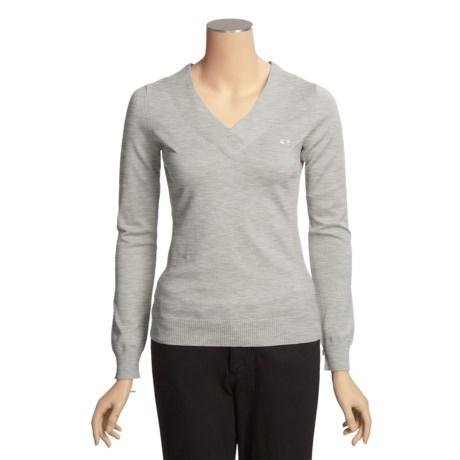 Vineyard Vines Fuller Street Sweater - V-Neck (For Women)