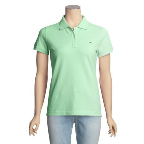 Vineyard Vines Classic Polo Shirt - Pima Cotton, Short Sleeve (For Women)