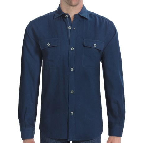 Vineyard Vines Guide Boat Shirt - Long Sleeve (For Men)