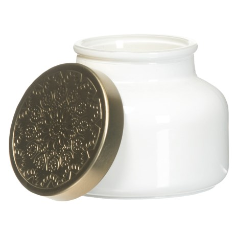 Sand + Fog Tropical Citrus Gold Lid Candle - 9 oz.