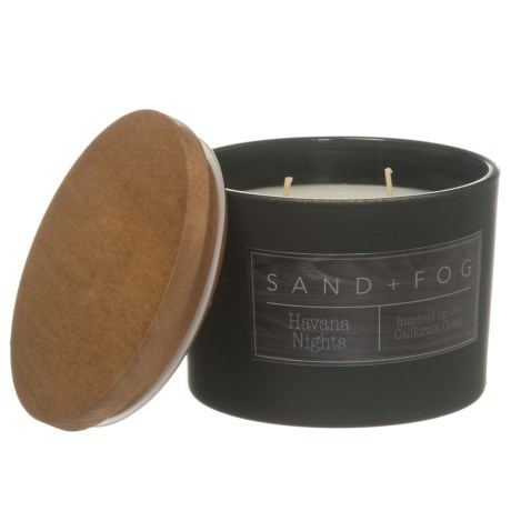 Sand + Fog Havana Nights Candle - 2-Wick, 12 oz.