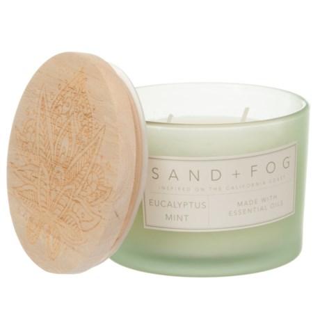 Sand + Fog Eucalyptus and Mint Candle - 2-Wick, 12 oz.