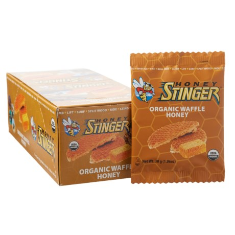 Honey Stinger Organic Energy Waffles - Box of 16
