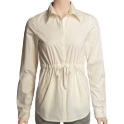 Carve Designs Barcelona Shirt - Cotton, Long Sleeve (For Women)