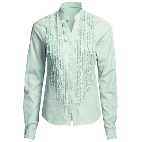Carve Designs Hailey Shirt - Cotton, Long Sleeve (For Women)