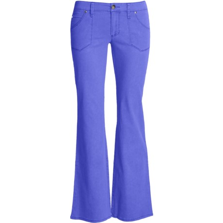Carve Designs Hudson Pants - Cotton, Low Rise (For Women)