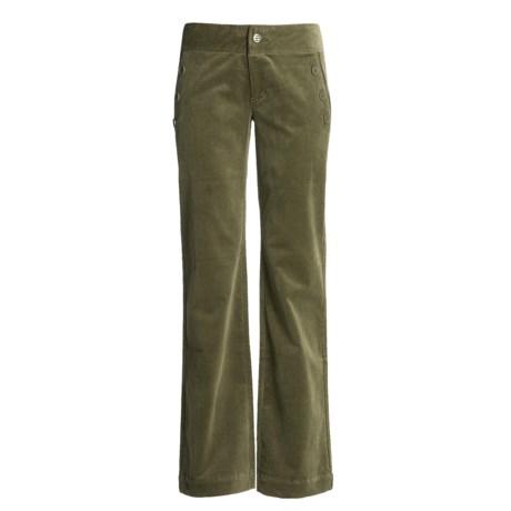Carve Designs Sun Valley Sailor Pants - Cotton Corduroy, Straight Leg (For Women)