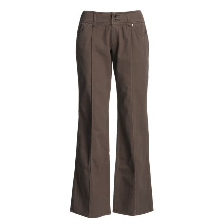 Carve Designs Thayer Pants - Low Rise, Loose Fit (For Women)