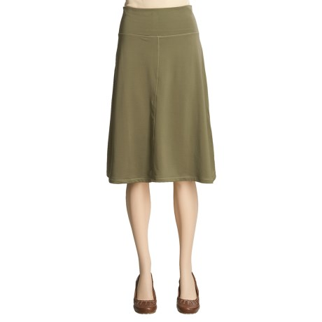 Carve Designs High Point Skirt - Sueded Stretch Jersey (For Women)