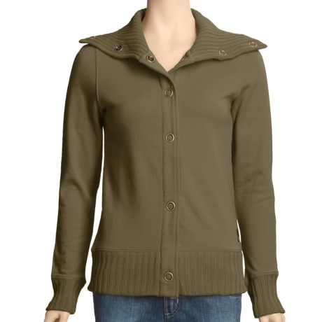Carve Designs Telluride Jacket - Cotton Terry (For Women)