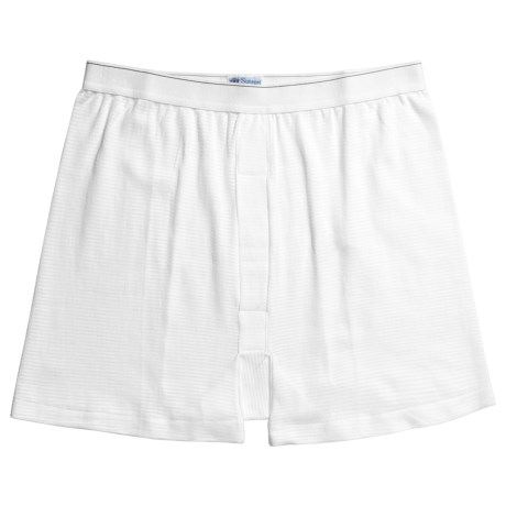 Sunspel Supima® Q14 Cellular Cotton Underwear Boxer Shorts - Q14 Cellular (For Big Men)