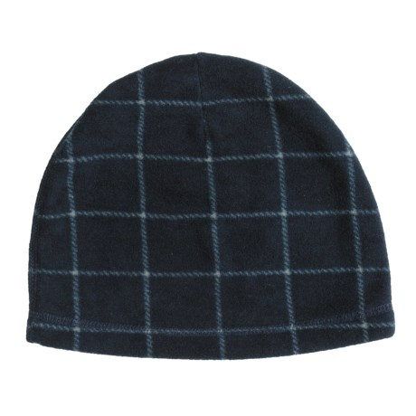 PT Sportswear Fleece Beanie Hat - Plaid (For Men and Women)