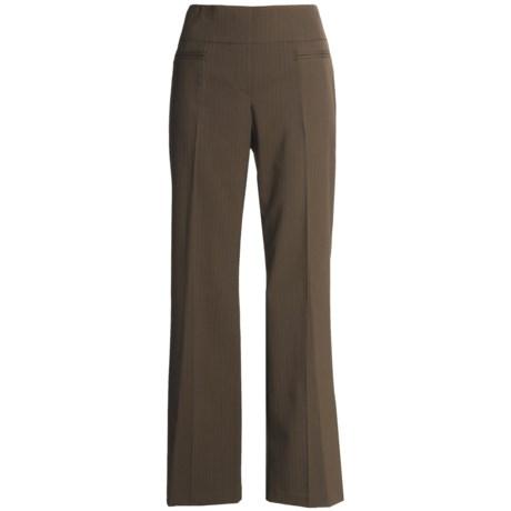 Tribal Sportswear Textured Stripe Pants (For Women)