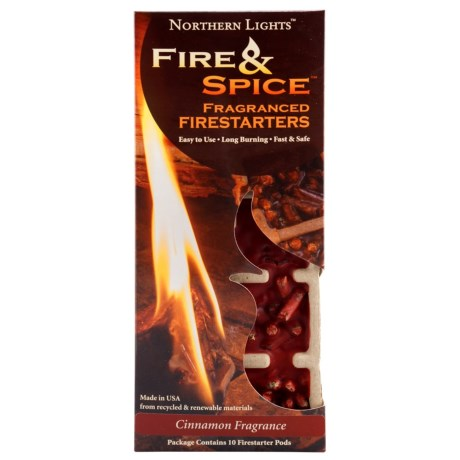 Northern Lights Fire and Spice Fragranced Firestarter