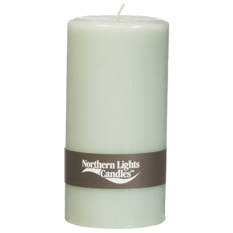Northern Lights Scented Pillar Candle - 3x6""